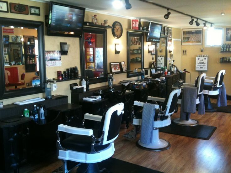 17 best ideas about barber shop interior on pinterest shop interiors industrial shelves and - Barber shop interior ...