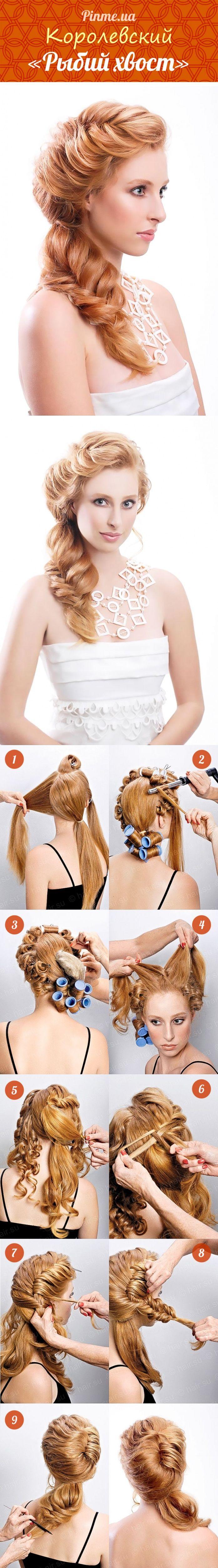 Плетение кос с лентой пошаговая инструкция с 61