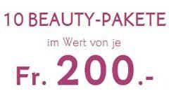Gewinne mit ein wenig Glück monatlich 10 Beauty-Pakete von Yves Rocher und im Wert von je CHF 200.-