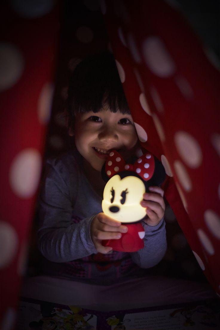Myszka Minnie SoftPal #design #oświetlenie  #dziecko #pokójdziecka #LED #interior #Philips #Showroom #Duchnicka #PhilipsLighting