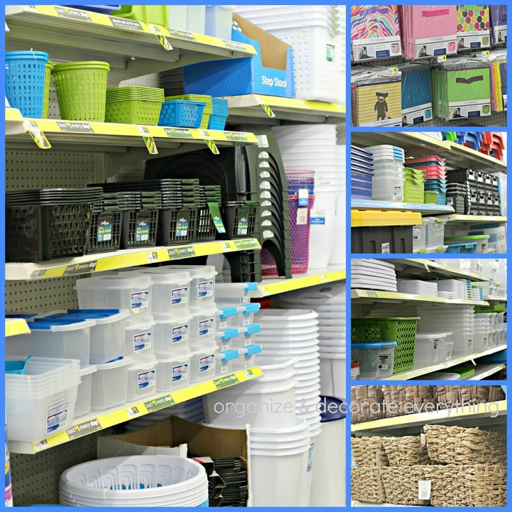 Kitchen Organization From The Dollar Store: 17 Best Images About DOLLAR TREE BINS/ETC TO ORGANIZE On