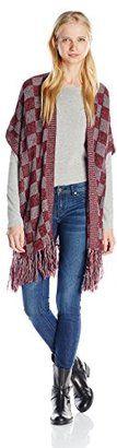 Derek Heart Juniors' Marled Pointelle Open-Front Cardigan Sweater - Shop for women's Cardigan