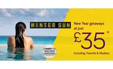 Monarch Flights - New Year getaways at just £35!