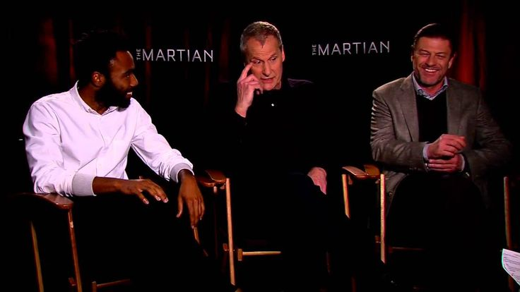 The Martian - Jeff Daniels, Donald Glover and Sean Bean Official Movie I...