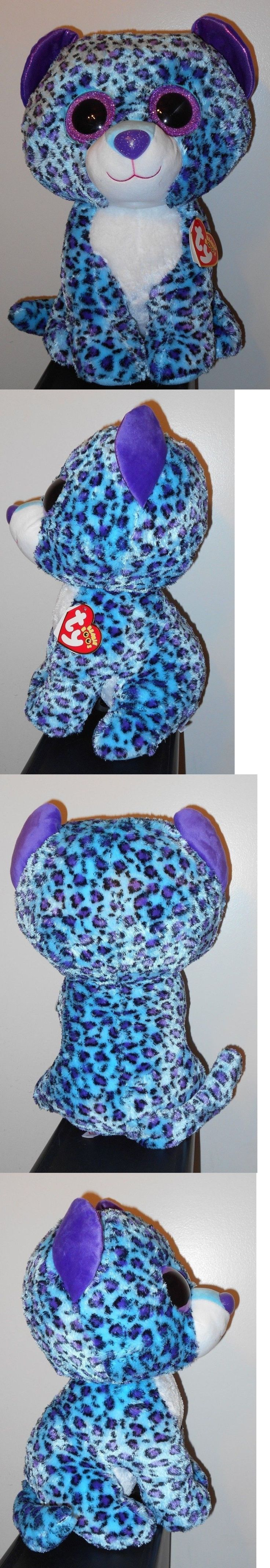 Current 438: Ty 16 Large Jumbo Beanie Boos ~ Lizzie The Leopard ~ Claires Exclusive ~ New -> BUY IT NOW ONLY: $44.9 on eBay!