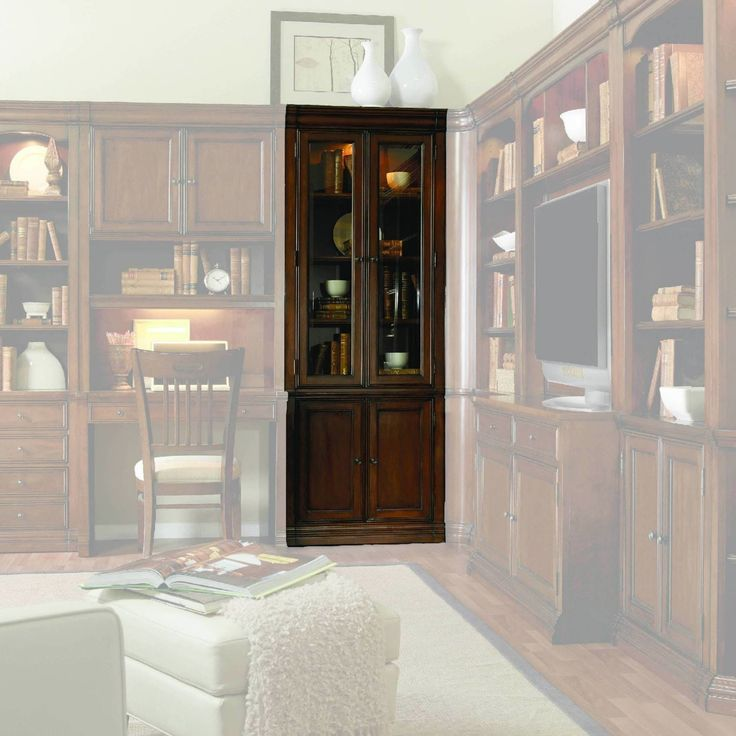 Hooker Furniture Cherry Creek 32 in. Wall Curio Cabinet - 258-70-447