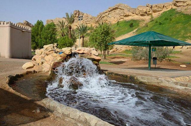 Green Mubazzarah - горячие источники