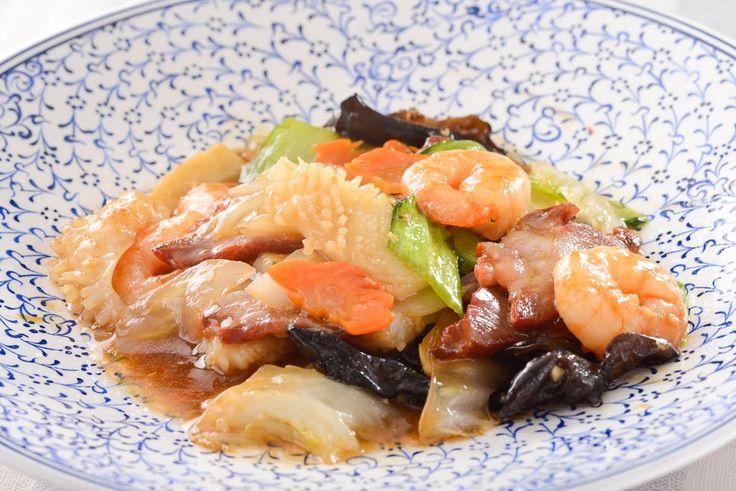 八宝菜のレシピ - YouTube