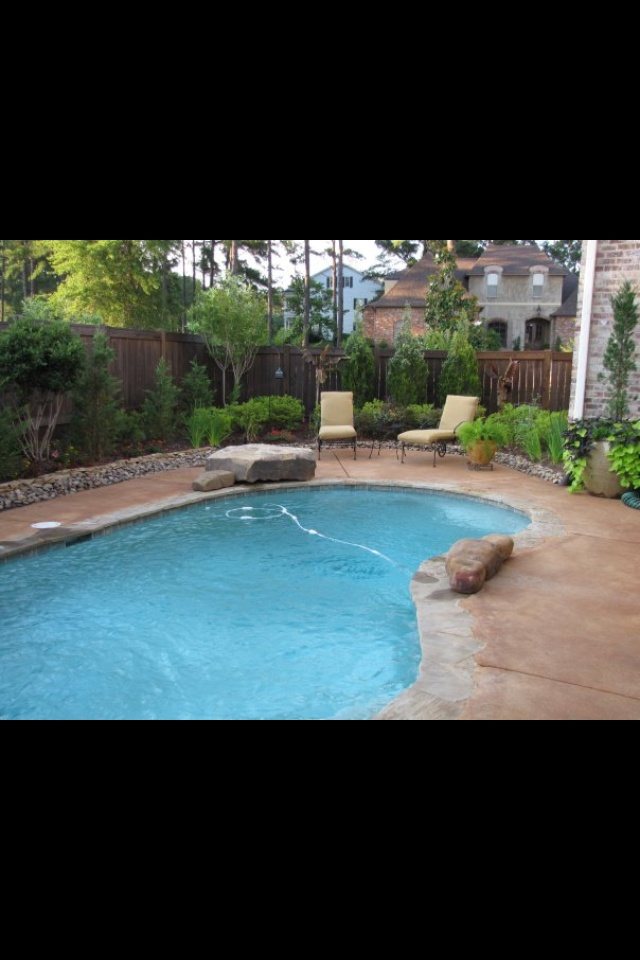 79 best images about swimming pools for small yards on for Garden pool facebook