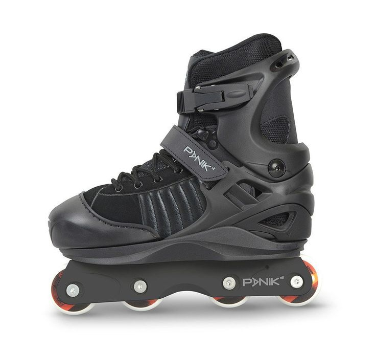 Now added to our store: Anarchy Panik Jun... Check it out here! http://surfinmonkeys.com/products/anarchy-panik-adjustable-aggressive-inline-skates-black?utm_campaign=social_autopilot&utm_source=pin&utm_medium=pin