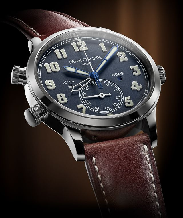 """Patek Philippe Calatrava Pilot Travel Time Is 2015's Ultimate Stealth Wealth Sports Watch - see Ariel's analysis over at Forbes """"How do collectors feel about what is arguably the world's most conservative watch brand releasing a new 42mm-wide sport watch out of seemingly nowhere that costs almost $50,000? For 2015, Swiss Patek Philippe released the new reference 5524 Calatrava Pilot Travel Time watch that has decidedly split fans of the brand, even though at its core, this is a splendid…"""