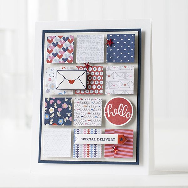 Created by Shari Carroll using the July 2014 card kit by Simon Says Stamp.  July 2014