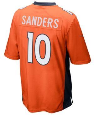 Nike Men's Emmanuel Sanders Denver Broncos Game Jersey - Orange XXL