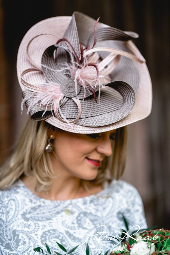 4b2758b5 U20 hat Royal Ascot has Ballhut Kentucky-Derby hat horse racing couture  Millinery Sinamay hat wedding Fascinationor in 2019   Hats   Hats, Derby  hats, ...
