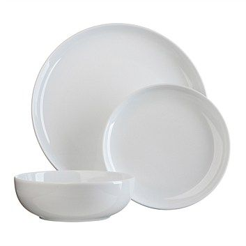 Dinner Sets - Dining & Entertaining - Briscoes - Jamie Oliver Everyday White Dinner Set - 12 Piece