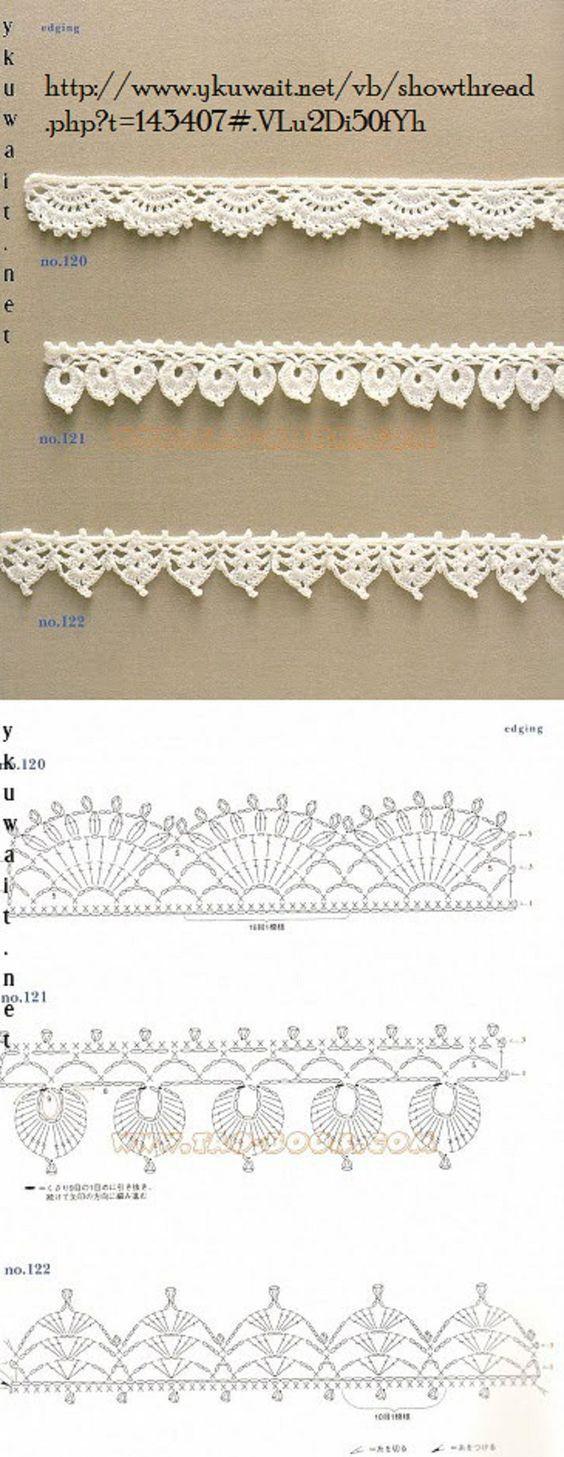 Crochet Lace Edging                                                                                                                                                      More