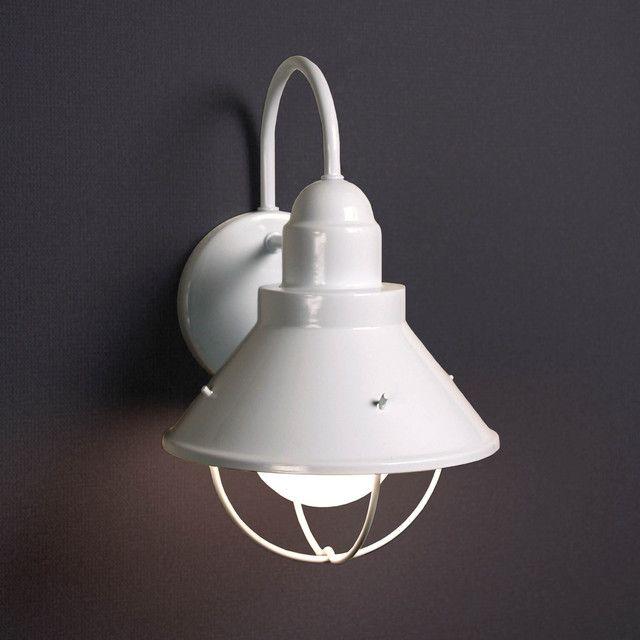 玄関 照明 LED 屋外 ポーチライト 門柱灯 門灯 外灯 9022wh アンティーク風  レトロ ブラケット 照明器具 おしゃれ E26 LED電球 ボール電球形 8.9W
