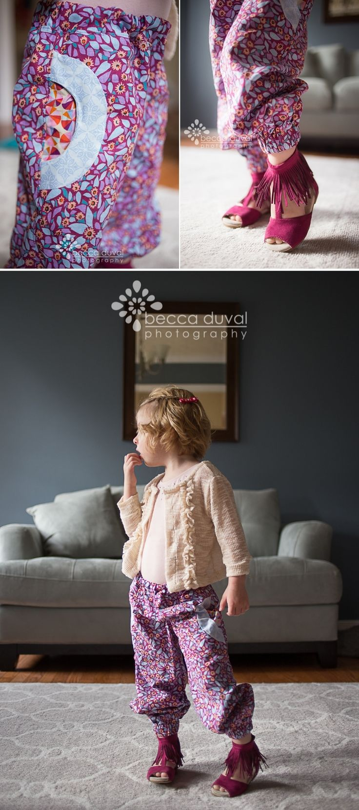 Pattern Emporium: Girl's Harem Pants — Pattern Revolution