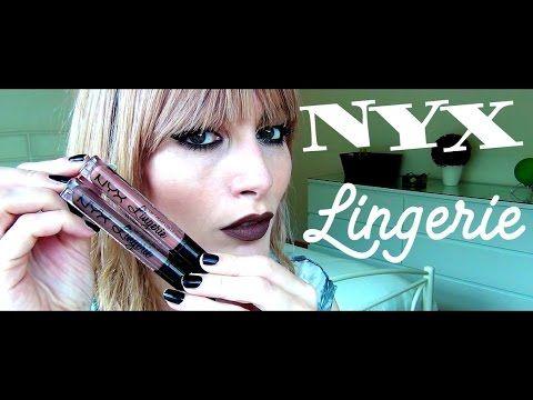 NYX Lingerie / Ruffle Trim & Teddy / Swatches | MICHELA ismyname ❤️
