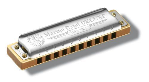 Hohner Marine Band Deluxe Harmonica-key Of C by Hohner. $83.19. For more than 100 years, the Marine Band has been the favorite harmonica of artists like Little Walter, Paul Butterfield and Kim Wilson. Ever since 1896, discerning professional harmonica players in search of an unmistakable and unique sound have played the Hohner Marine Band as their instrument of choice. The new Marine Band Deluxe is a contemporary addition to the Marine Band legacy. Combining th...