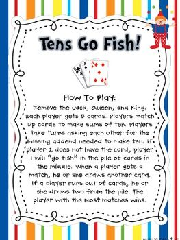 1000 images about number bonds games on pinterest for Go fish instructions