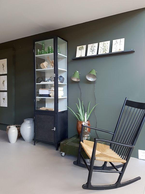 Kleur muur en zwarte details vtwonen & design beurs 2016