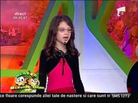 Cleopatra Stratan - Cand voi creste mare - YouTube
