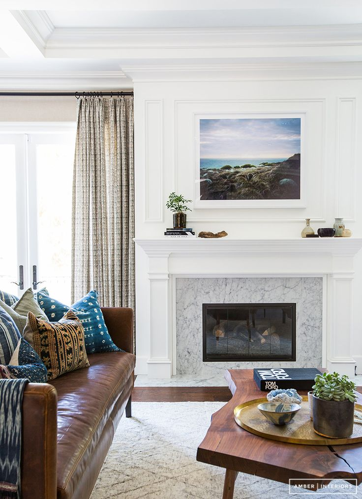 light & airy mantle