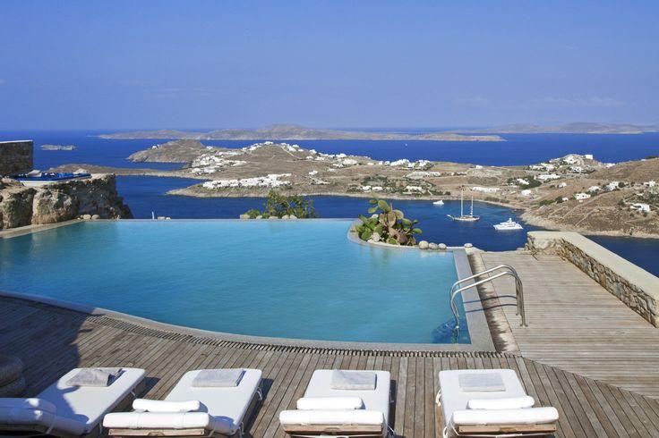 Beautiful #luxury #private villa Athanasia #Mykonos #Greece