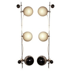 Pair Of Wall Or Ceiling Lights By Alain Richard