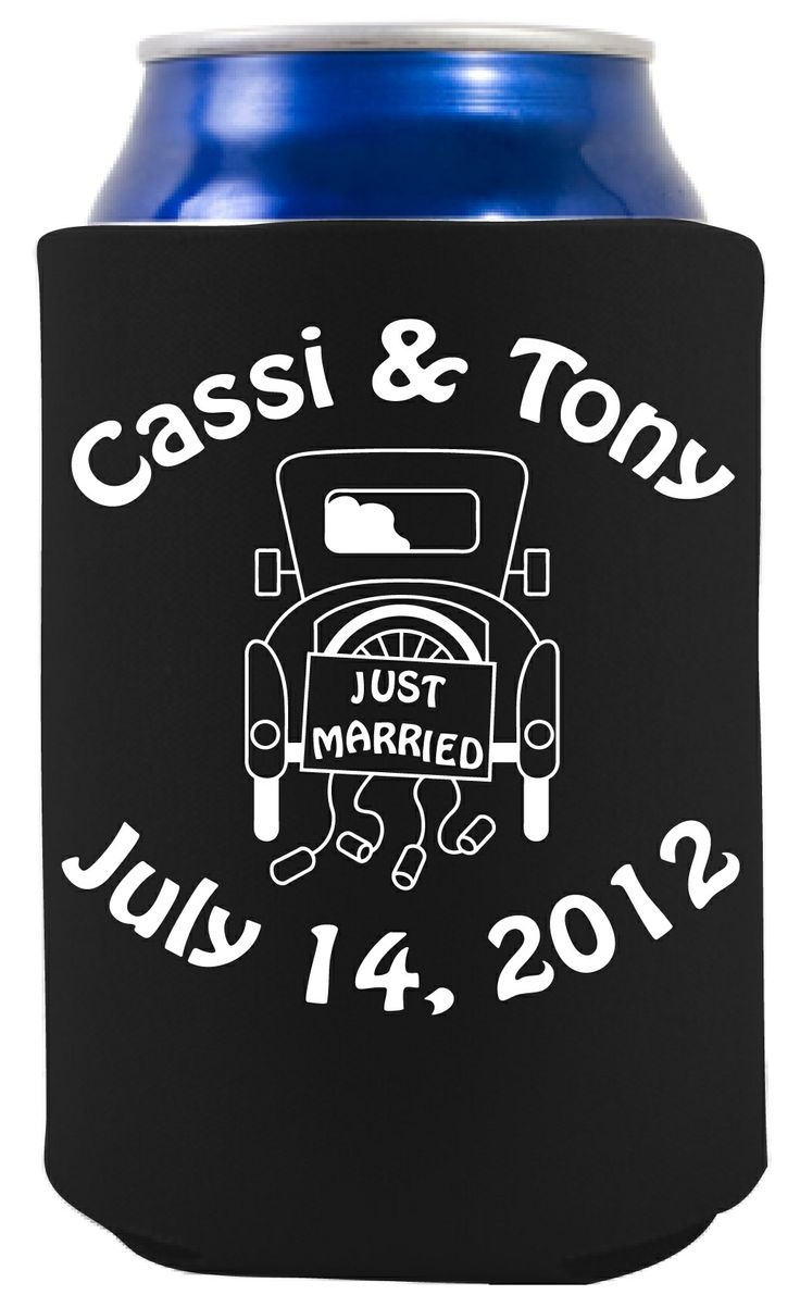 17 Best Images About Koozies For Your Wedding On Pinterest Personalized Wed