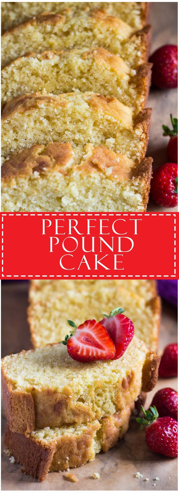 Perfect Pound Cake | Marsha's Baking Addiction