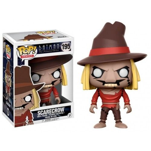 Funko Scarecrow 195, Batman the Animated Series, DC Comics, Cartoon, Espantalho, Funkomania