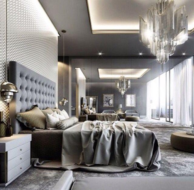 Luxurious beautiful bedroom