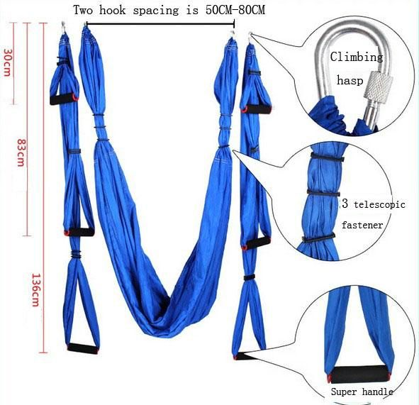 Raction Device Yoga Inversion Swing Trapeze Hammock Anti-Gravity Belt Tool Stretch Rope Fitness Equipment from Haifengstore0319,$67.01 | DHgate.com