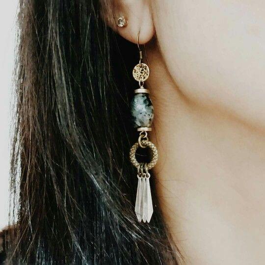 TOODLEBUNNY Positive Vibes Earrings