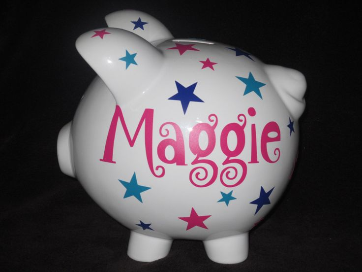 21 best personalized banks images on pinterest piggy banks personalized piggy banks stars by piggyqs on etsy httpsetsy negle Images