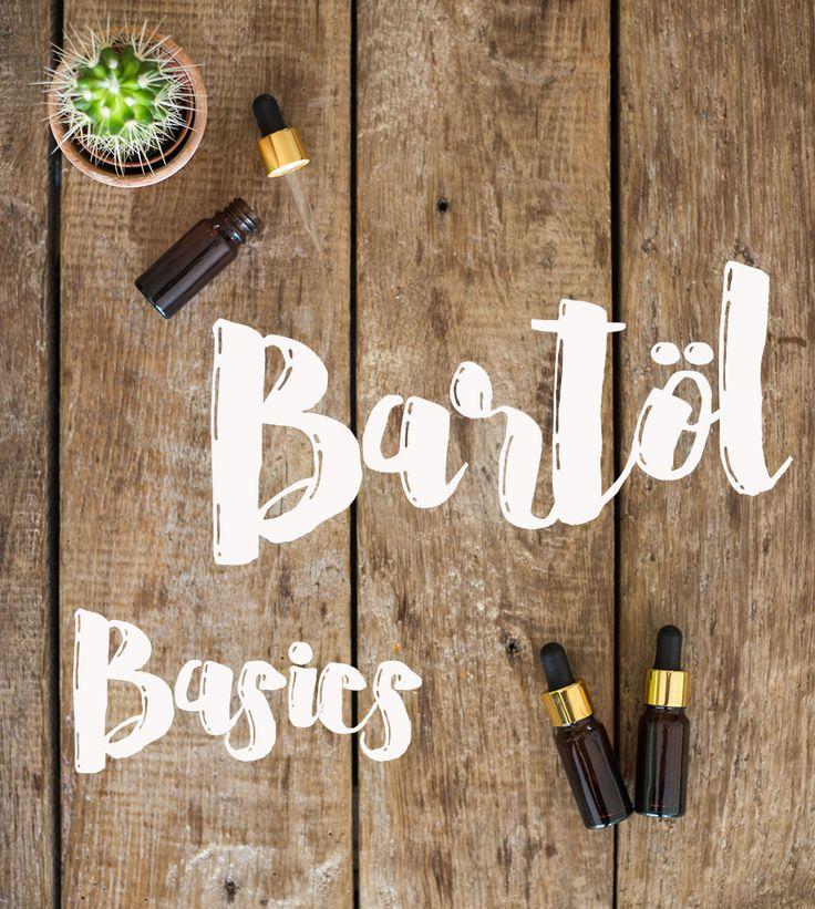 DIY Bartöl Basics - Öle und Duftempfehlungen für DIY Bartpflege für Männer