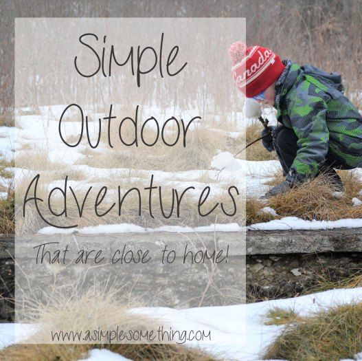 Sometimes, maybe the best trip is the one that's the simplest.Get outside with your family and explore close to home - Outdoor Adventures.