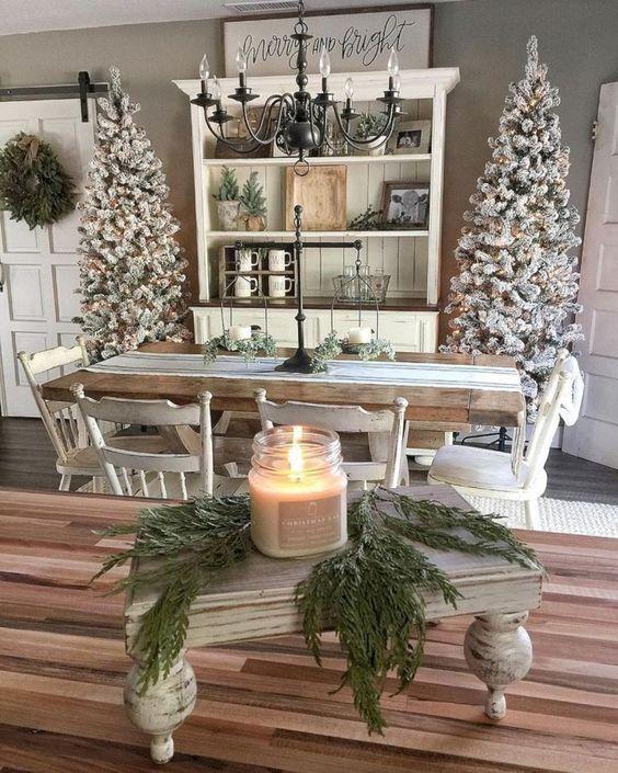 29 Fresh Farmhouse Christmas Decor Ideas for 2018 Texas