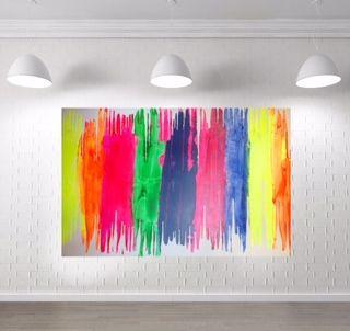 Beautiful Vibe series, original art by Kerry J Armstrong.....