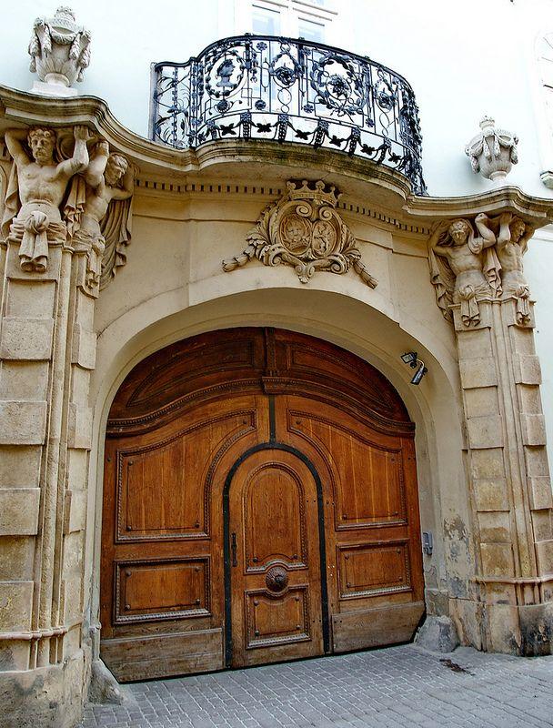 elinor04. The baroque Zichy palace. Székesfehérvár, Old Town.