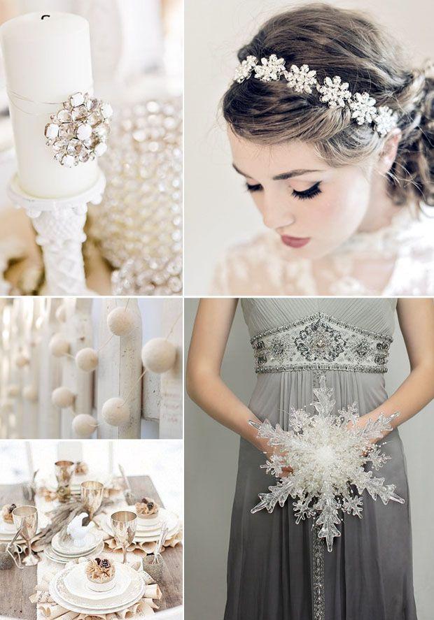 winter wonderland wedding | Style: Winter Wonderland | The Green Kangaroo – Unique Wedding ...