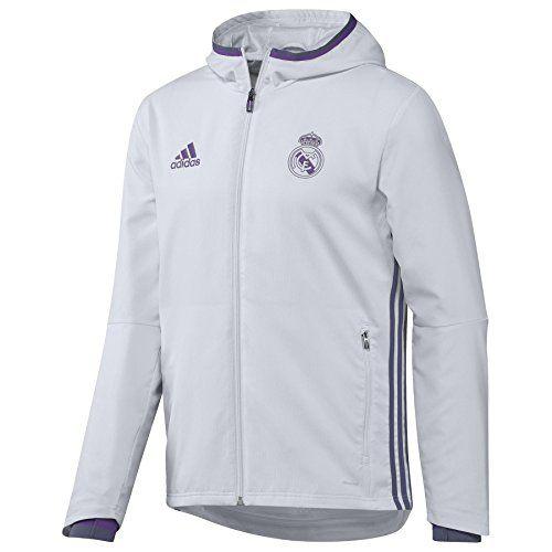 Adidas Real Madrid Cf Pre-Sweat-shirt-Homme: Jogging Adidas : Real Pre Pnt A03099 Noir – Coupe ajustée – Elastique à la taille Composition…