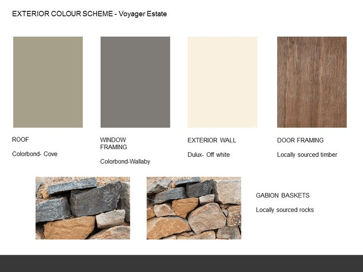Image Result For Colorbond Wallaby Colour Scheme Our