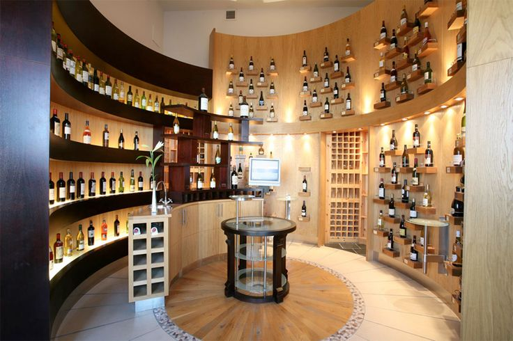 Luxury wine store design 25 great home wine cellar Home wine cellar design