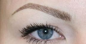 Semi-Permanent Brows #hairstroke tattoo brows