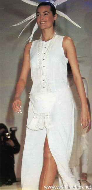 Rifat Ozbek spring/summer 1990