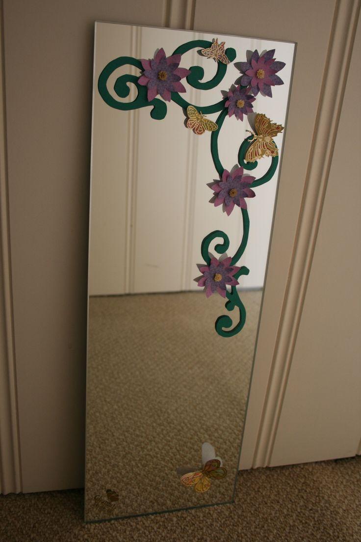 Versierde spiegel