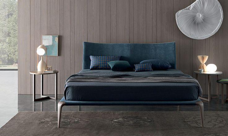 European furniture - modern bed design by Misura Emme